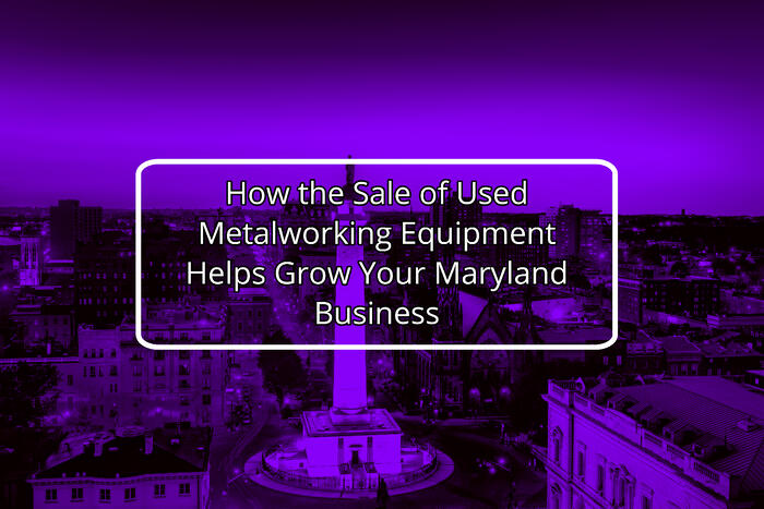 Baltimore Metalworking Auctions
