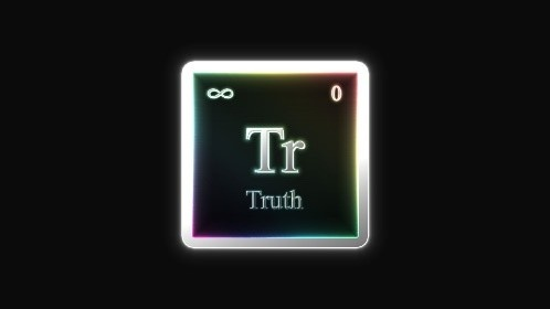 A Periodical Element Tile That Reads Truth