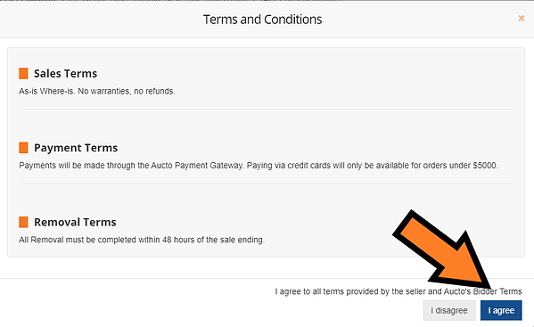 Tenders Terms & Conditions