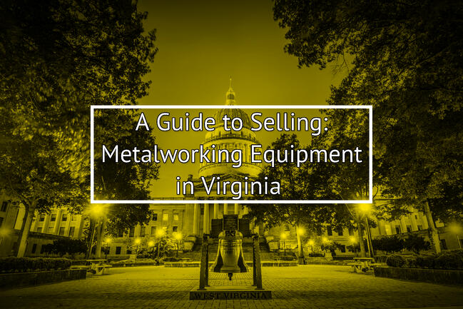 Selling Used Metalworking Equipment In Virginia