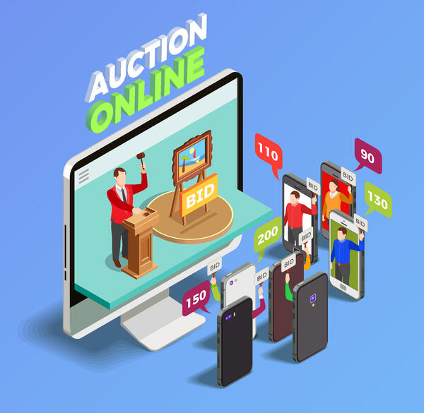 Online Industrial Auctions