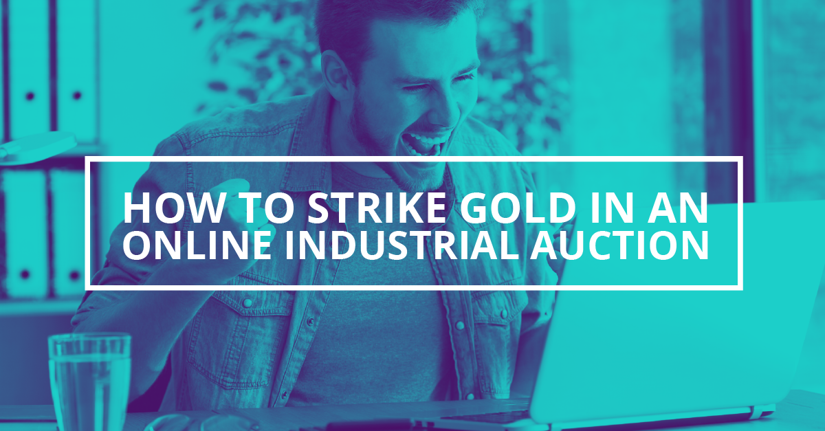 How You Can Strike Gold At Online Equipment Auctions