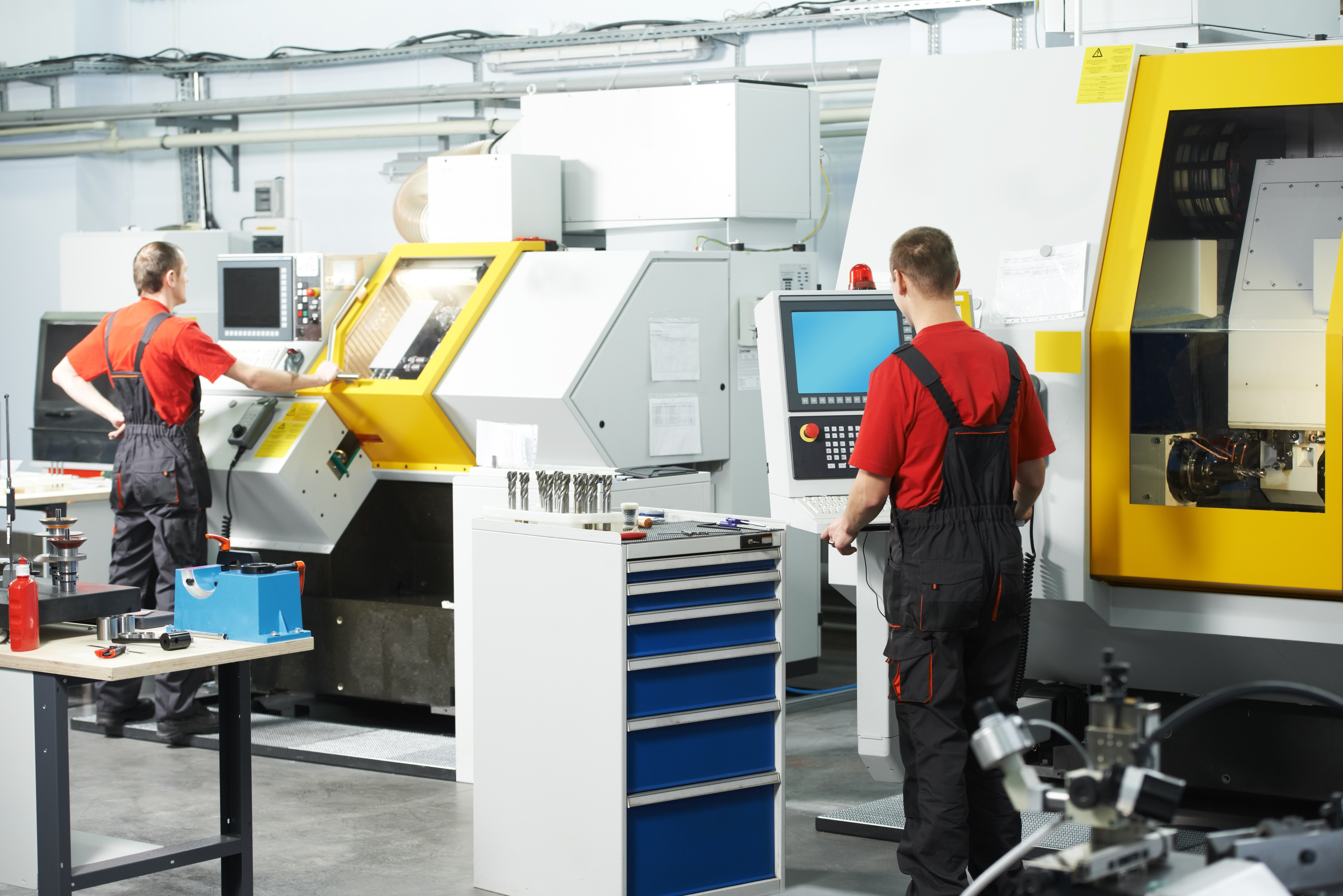 CNC Equipment & CNC Machinists