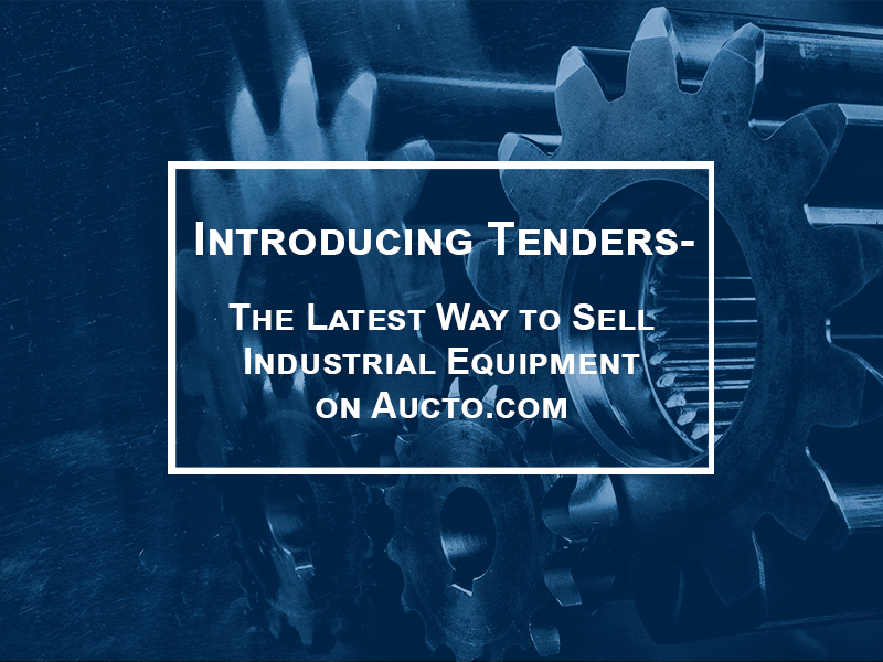Introducing Tenders – The Latest Way to Sell on Aucto.com