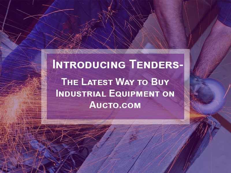 Introducing Tenders – The Latest Way to Buy on Aucto.com